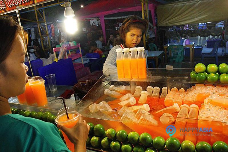 Мандариновый сок в Тайланде