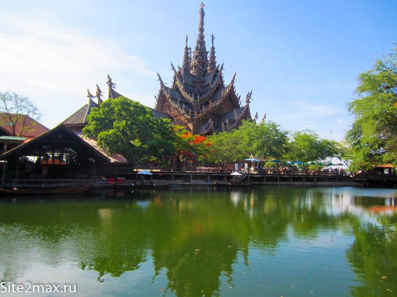 Фотография Храма Истины в Таиланде