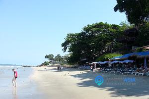 Пляж отеля Азия