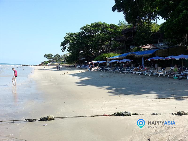 Чистый пляж Паттайи