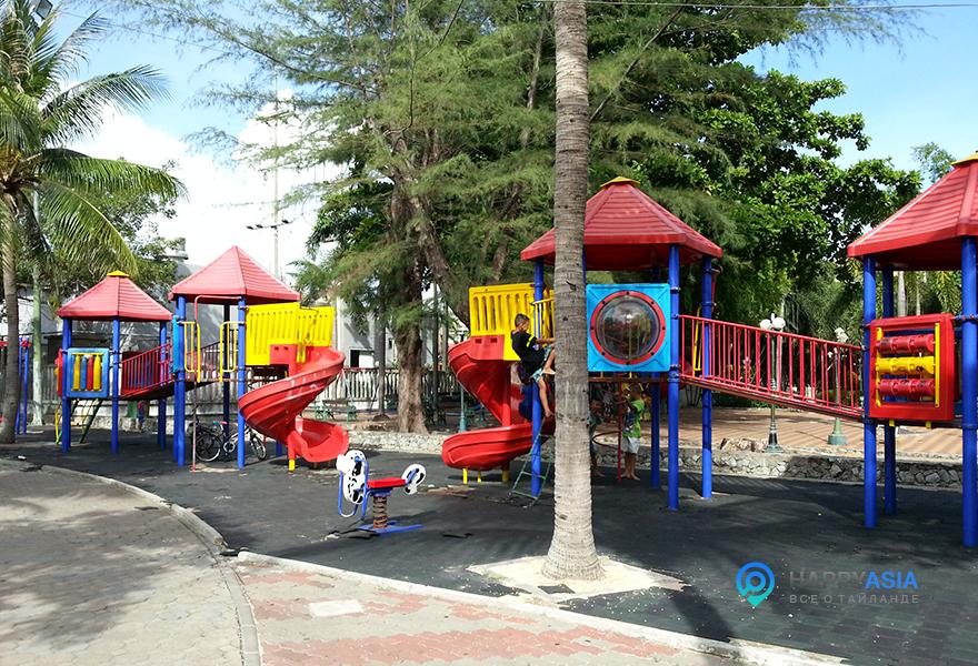 Детская площадка Паттайя (фото)