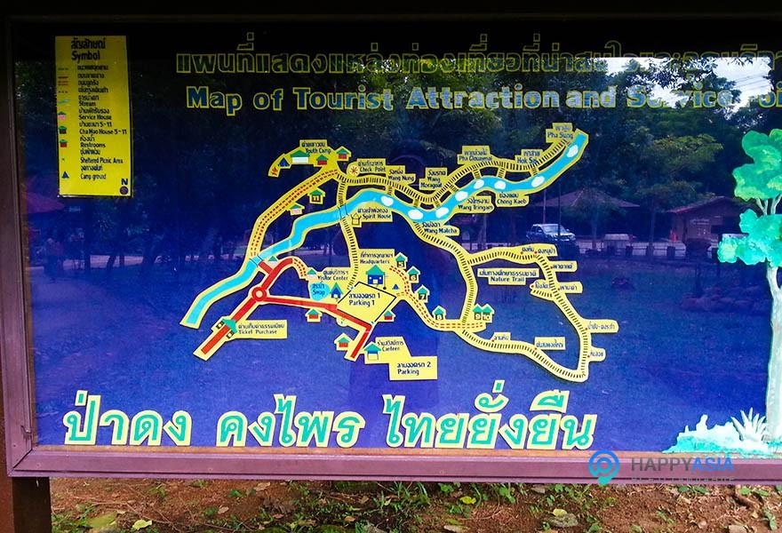 карта-водопада