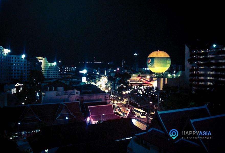 Ресторан с видом на Паттайю
