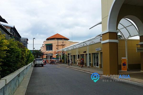 Улица для шоппинга в Паттайе