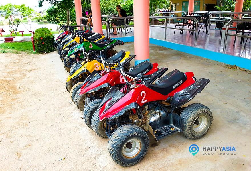 Квадроциклы в Паттайе