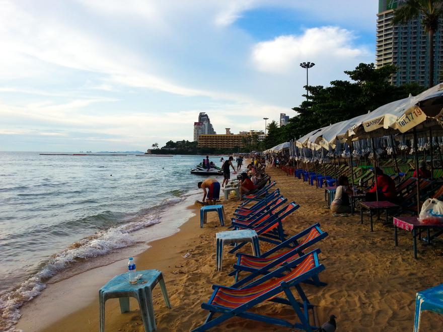 Паттайя пляж