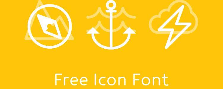 шрифт иконок бесплатно