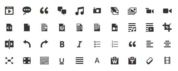 иконочный шрифт скачать бесплатно