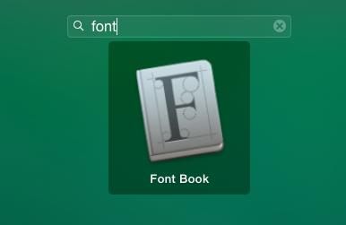как удалить шрифт с mac