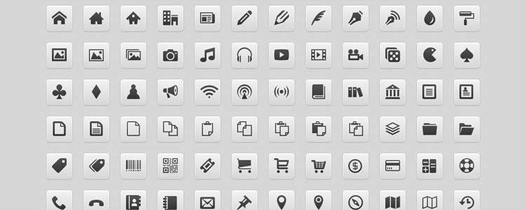 иконочный шрифт бесплатно