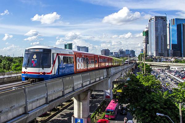 Наземное метро в Бангкоке