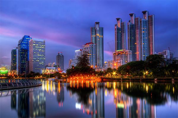 Парк с лучшим видом в Бангкоке