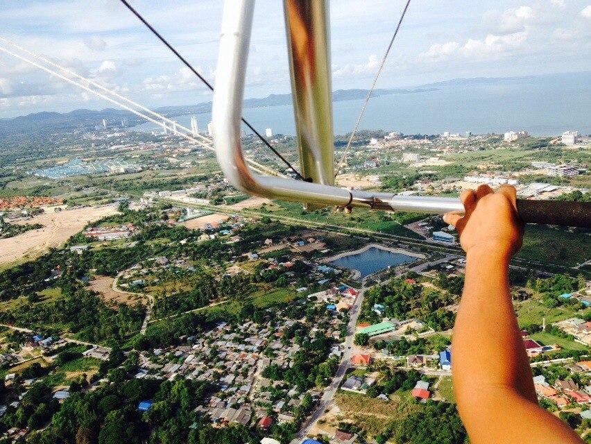 полет над Паттайей