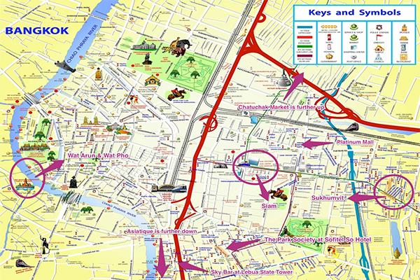 Бангкок — путеводитель