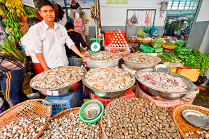 Рыбный рынок в Паттайе