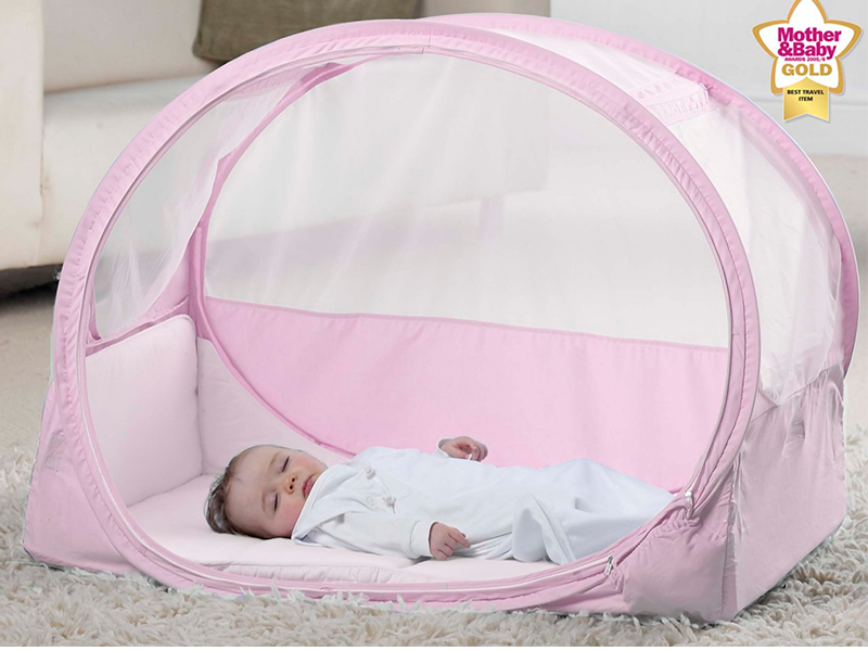 Манеж кровать для ребенка в путешествии