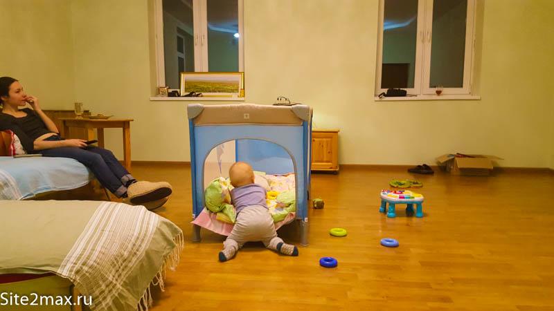 Детская кровать для путешествий