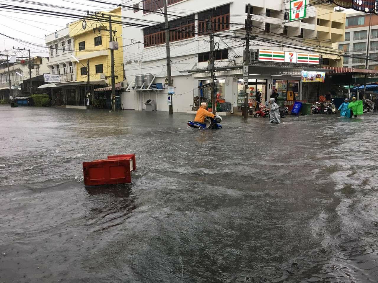 Сезон дождей в Хуа Хине