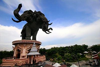 Трехголовый слон Эраван!  Музей и тайское чудо света
