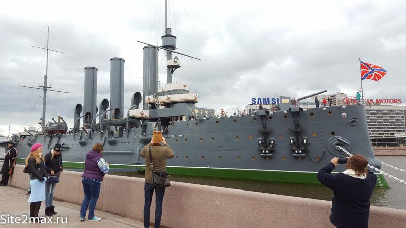 Крейсер Аврора в Санкт-Петербурге — Как мы с ребенком в музей сходили.
