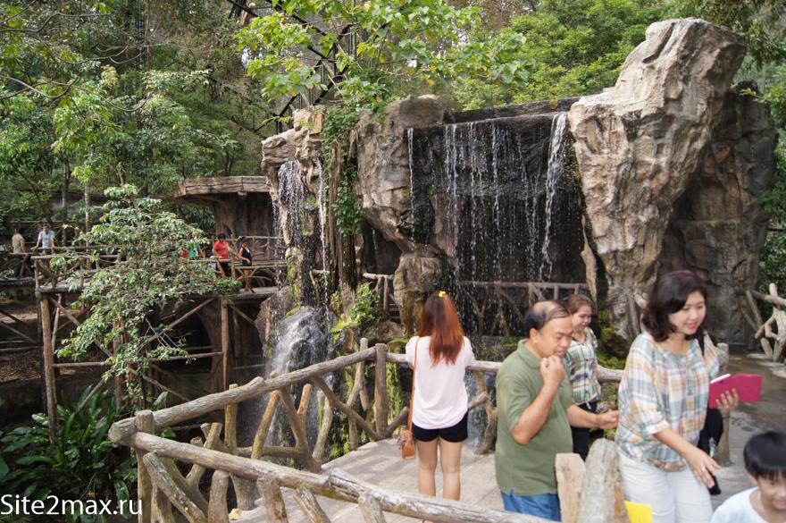Птичий вольер в Кхао Кхео