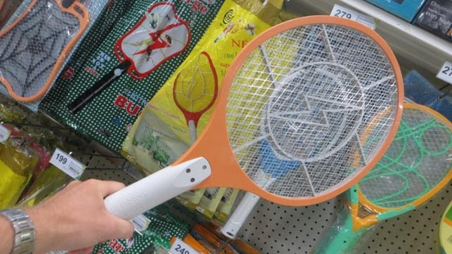 Ракетка для комаров