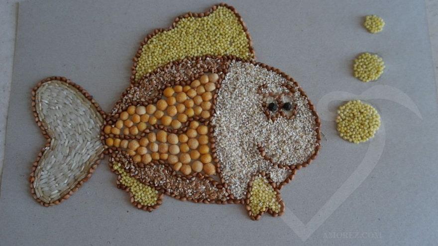 Сувениры из риса