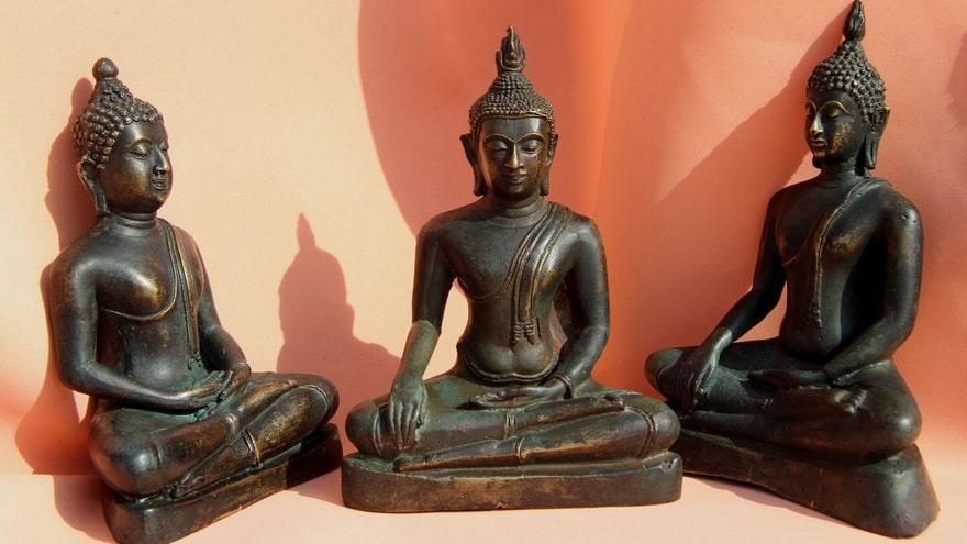 Произведения искусства, статуэтки Будды