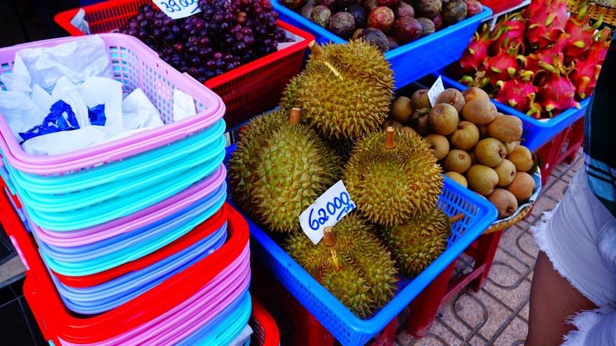 фрукты из тайланда