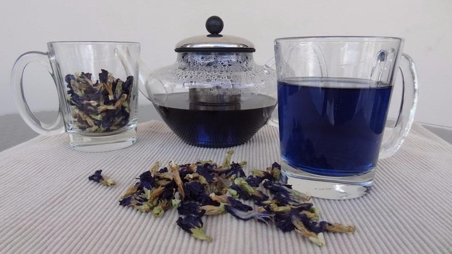 Состав Синего чая
