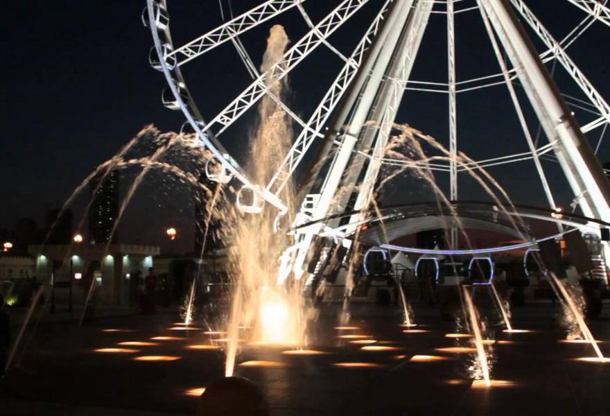 Колесо обозрения в Дубае Dubai Eye