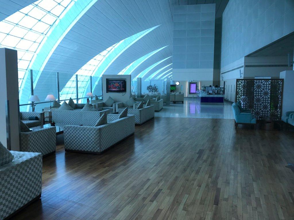 First class Lounge Emirates в аэропорту Дубая