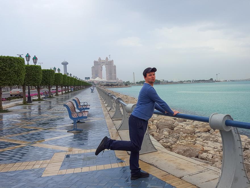 Мы попали под дождь в феврале в Дубае