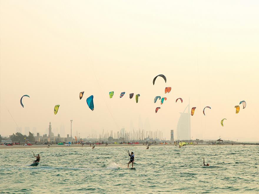Фото Kite Beach Dubai сделана lightlyscented с flickr.com