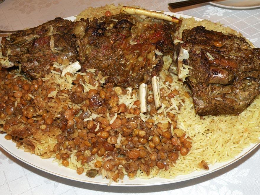 Гизи, национальное блюдо в ОАЭ