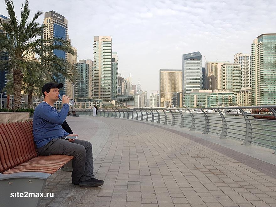 Фото погоды в Дубае в марте в самую жару