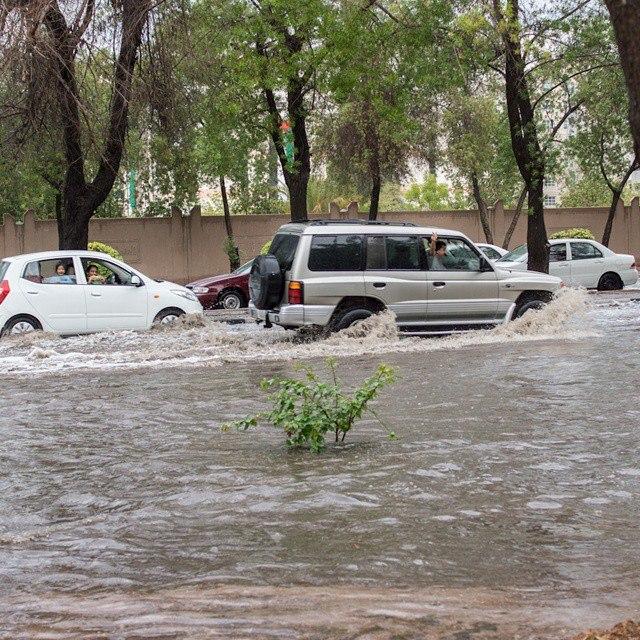 В 2014 году в Дубае было наводнение в декабре
