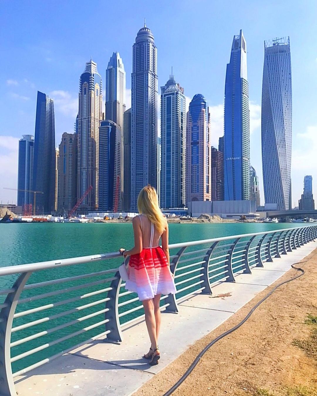 Это декабрь 2018 в Дубае, отличная погода для прогулок и пляжного отдыха