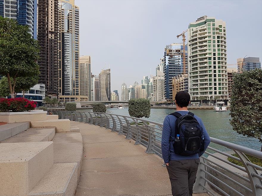 Прогулка по Дубай Марина - мой отзыв