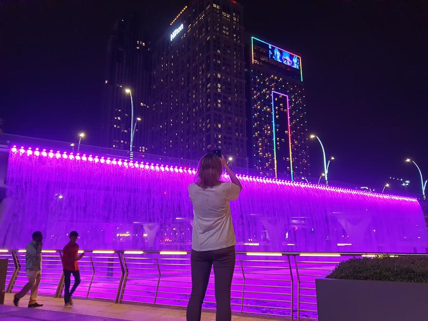 Мост с водопадом в Дубае (Dubai Waterfall) — время работы, как добраться