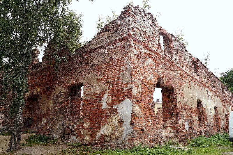 Развалины Крендельного собора