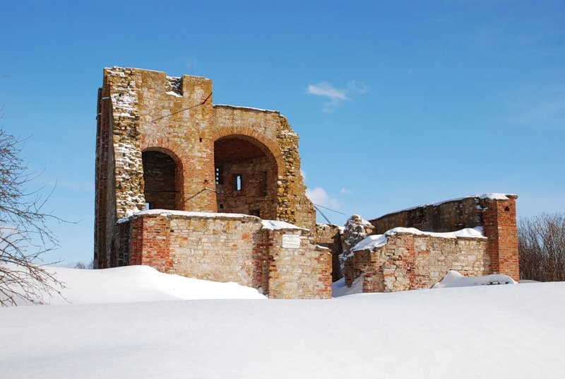 Рюриково городище зимой