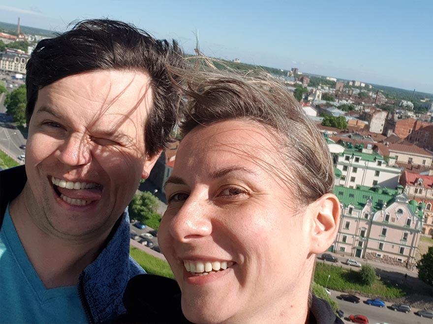 Выборгский замок — поднимаемся на башню святого Олафа или как испортить экскурсию