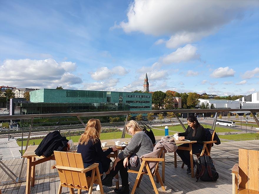Oodi библиотека в Хельсинки, которую Варламов назвал невероятной