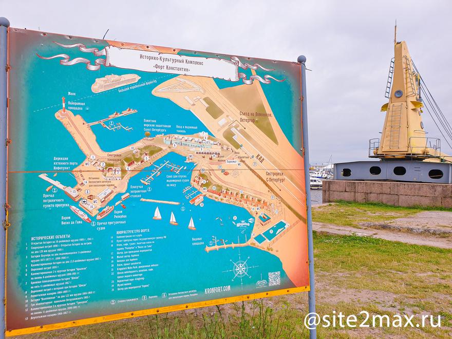 Карта форта