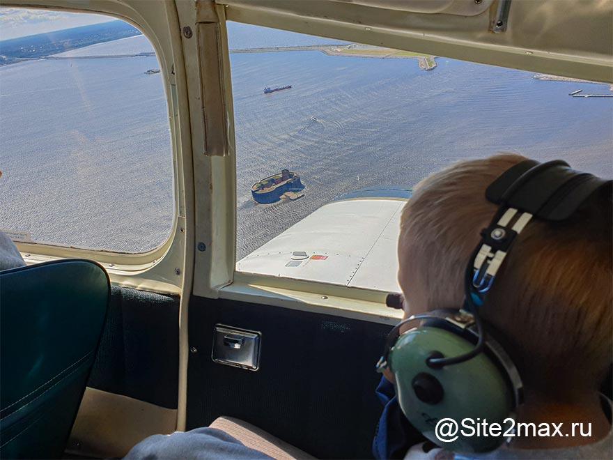Как мы с ребенком летали над фортами Кронштадта