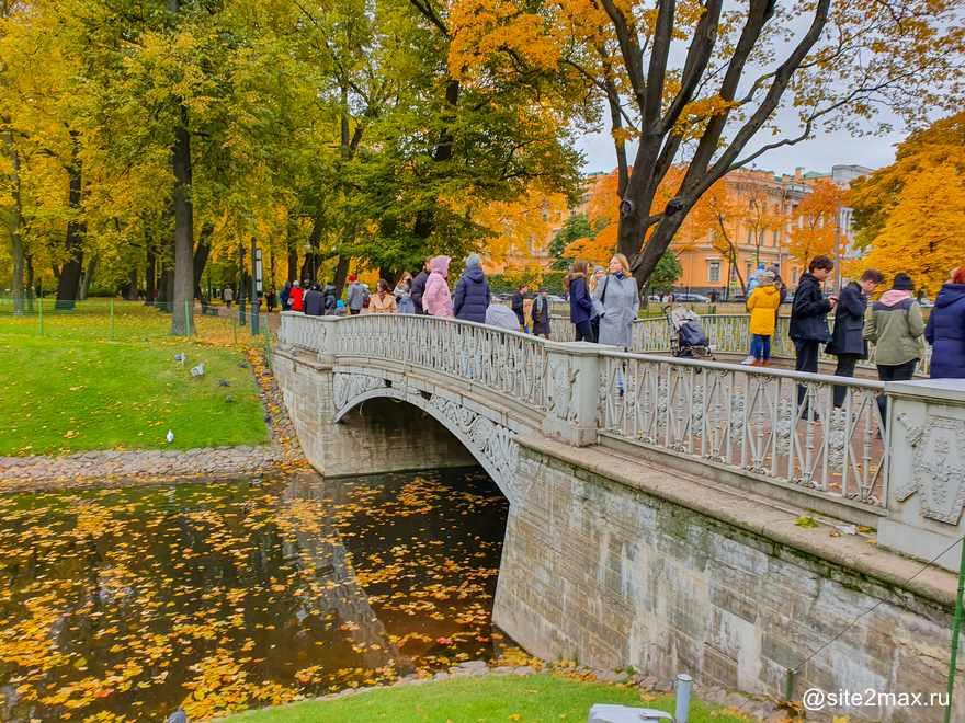 Что посмотреть в Михайловском саду в Санкт-Петербурге