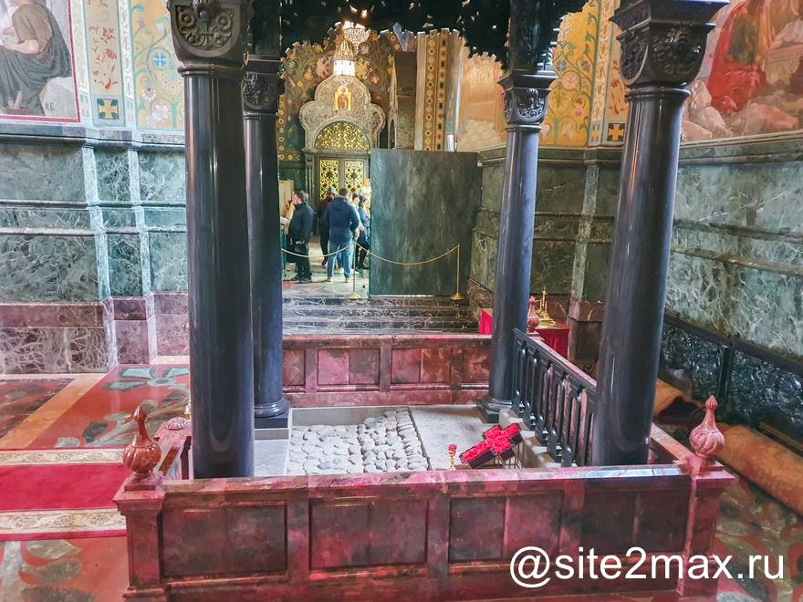 Место гибели Александра II